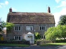 Langport, Somerset, Mansard Roof House © Pam Goodey